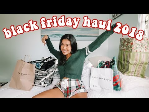 Black Friday Haul 2018! (i did damage)