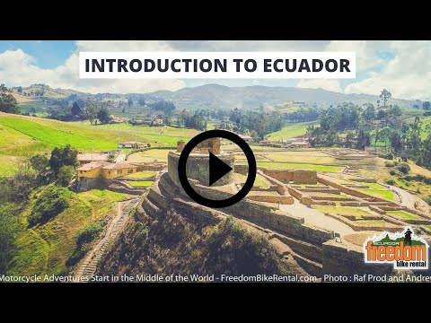 Introduction To Ecuador 12-day Motorcycle Tour