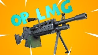 NEW Hacksaw Is OP! Best LMG In Fortnite Review & Gameplay!