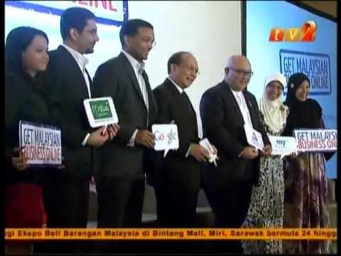 Google Get Malaysian Business Online - RTM2 Tamil News 22 Nov 2012