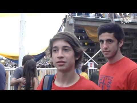 Cani Lemaire por las canchas: La Plata Rugby vs Club San Luis - Club Newman vs CUBA