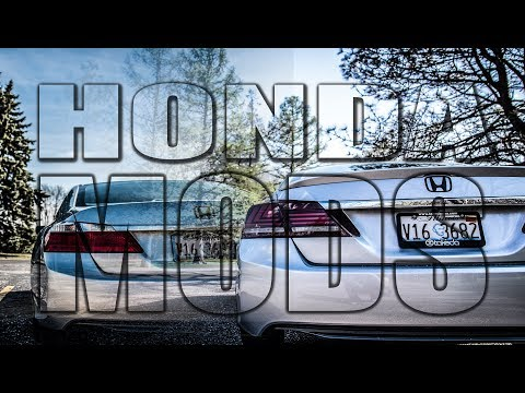 homepage tile video photo for 9th Gen Honda Accord JDMSPEED BWM Style Taillights and Lip Spoiler