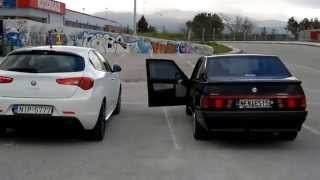 Giulietta Q.V vs Alfa 75 turbo