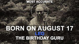 Born On August 17 | Birthday | #aboutyourbirthday | Sample