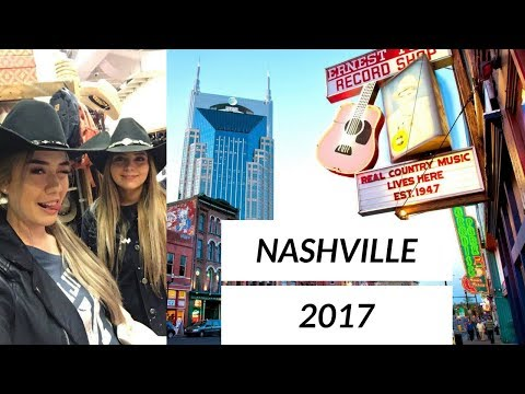 NASHVILLE VLOG: Live music, Grand Ole Opry, Bluebird Cafe || Hayley Adams