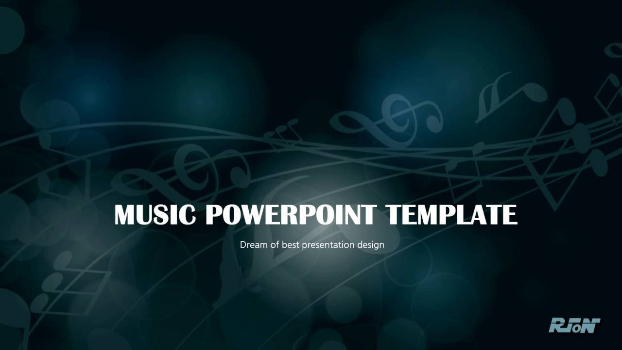 Music ppt template youtube music ppt template toneelgroepblik Images