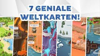 7 ausgedachte Weltenkarten von HazzaPlumbob! | sims-blog.de