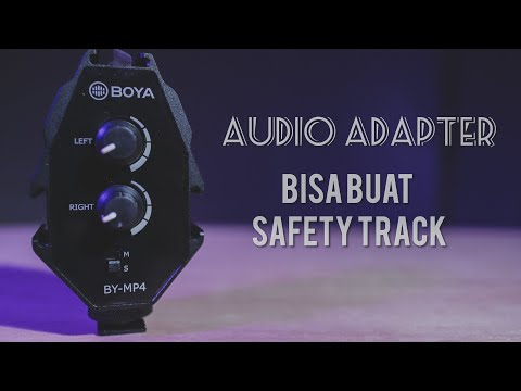 Audio Adapter/Mixer Kamera Boya BY-MP4 Review // Solusi 2 Mic Di Kamera