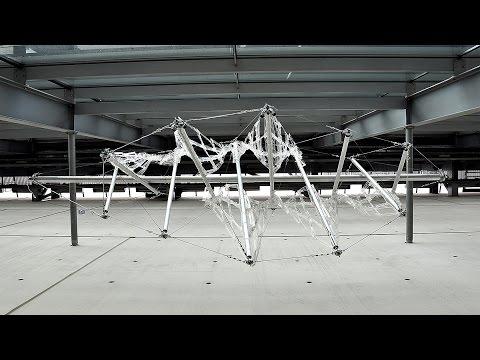 Interactive Tensegrity Pavilion -UPatras- IASS 2015
