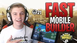 PRO FORTNITE MOBILE PLAYER // 525+ Wins // Fortnite Mobile Gameplay Tips & Tricks