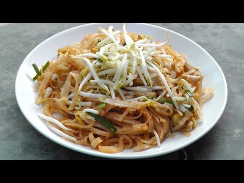 Vegan Vegetarian Thai Recipe: Pad Thai