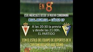 EN DIRECTO #RealMurciaCádizen8 Real Murcia - Cádiz CF. Copa del Rey
