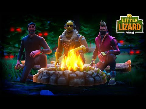 DONT CAMP IN WAILING WOODS AT 3AM! - FORTNITE SHORT FILM