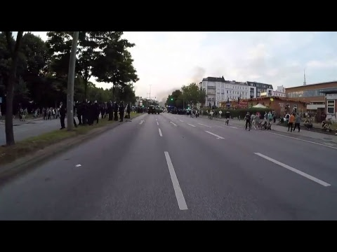 FULL STREAM Afternoon Protest G20 Summit in Hamburg, Germany 7-7-2017