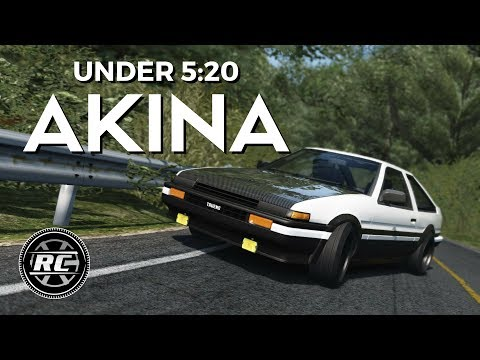 Akina Downhill under 5:20 - Assetto Corsa ⭐ Eurobeat ⭐