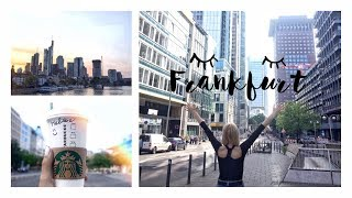 Vlog: Part 1. Тур по Европе ♡ Потерялись во Франкфурте!?!?!?!?