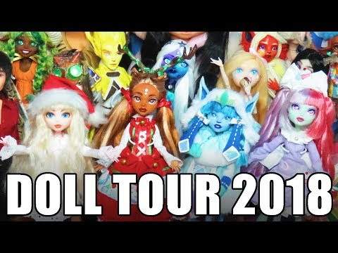 Doll Tour 2018 A look through all my customs!
