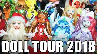 Doll Tour 2018 A look through all my customs!