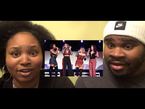 FIFTH HARMONY - HE LIKE THAT LIVE (POPTOPIA) (REAL 5H TALK) - REACTION