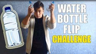 WATER BOTTLE FLIP CHALLENGE | AnDewFly