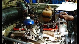 ''Берегись автомобиля'' или регулировка клапанов и приводные шкивы.....ч.2
