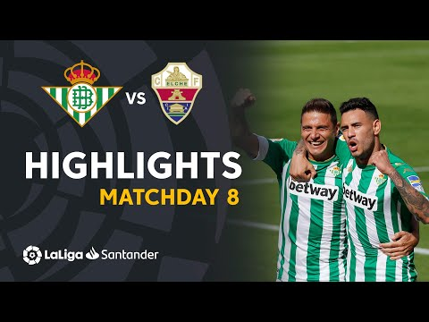 Betis Elche Goals And Highlights