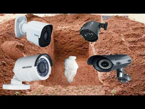Kabrin İçine Kameraları Yerleştirdiler ve Beklemeye Koyuldular.. Kayıtlardaki Şey Şok Ediciydi !!