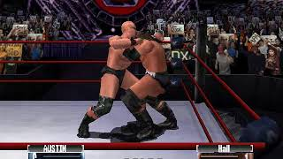 Stone Cold Steve Austin vs Scott Hall | WWF No Mercy (Expert)