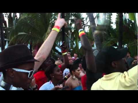 WMC 2012 Black Coffee South African House Music Event - Liquideep  - Miami South Beach