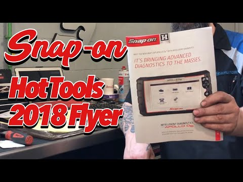 May 2018 SNAP-ON Hot Tools Flyer Review