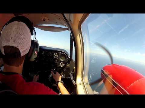 Piper Apache-Geronimo N4462P Twin Engine Training/Scenic Flight (9/3/12)