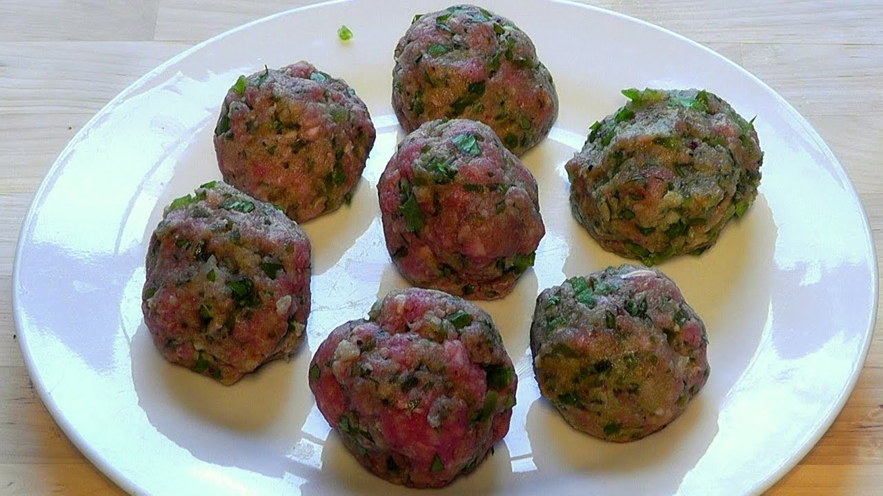 Meatballs Lamb Mince Chilli Peppers How To Make Recipe Youtube