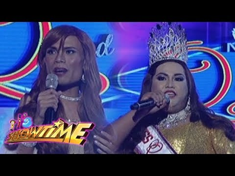 It's Showtime Miss Q & A: Carlota Chabilita vs. Marigona Dona Dragusha