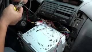 Install rear view camera for Suzuki Grand vitara.Установка камеры заднего вида для Suzuki Vitara.