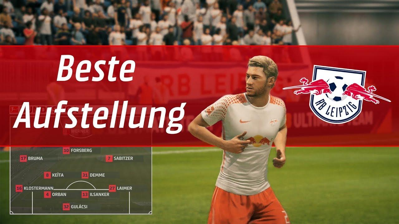 Fifa 18 Die Beste Aufstellung Für Rb Leipzig Fifa Tutorial Youtube