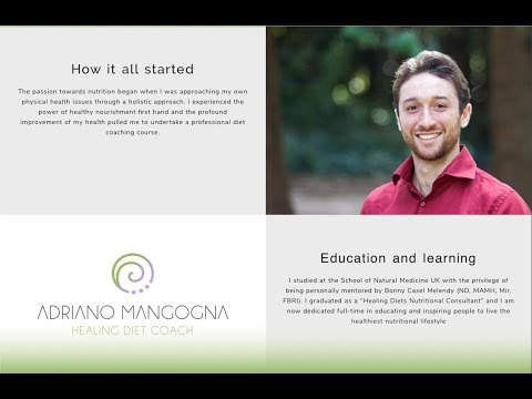 Live 1-on-1 coaching with Adriano Mangogna