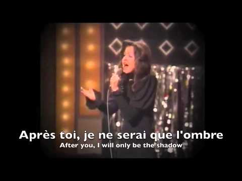 Eurovision 1972 - Vicky Leandros - Après toi ( with lyrics and translation )