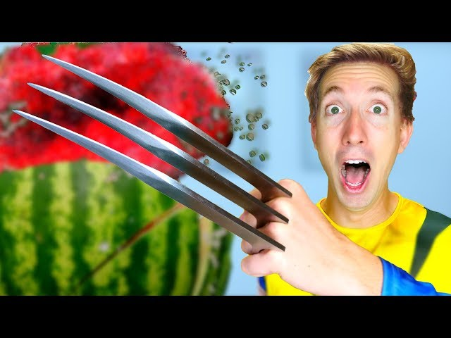 5 X-Men Weapons vs Fruit Ninja