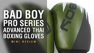 Bad Boy Pro Series Advanced Thai Boxing Gloves - Fight Gear Focus Mini Review