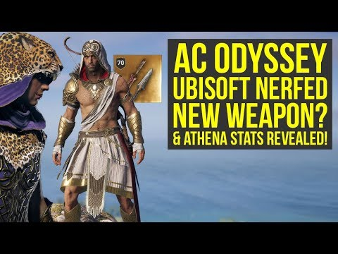 Assassin's Creed Odyssey Dionysos Pack NEW ARMOR & Athena Pack Stats REVEALED (AC Odyssey Dionysos) thumbnail