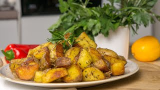Два простых рецепта картошки Картошка по деревенски Картофель с соусом бешамель Легко и вкусно