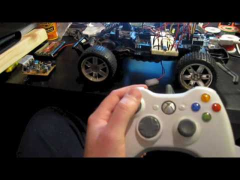 RC Car Controlled by Arduino and Xbox360 Controller