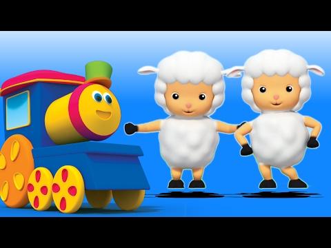 แมรี่มีลูกแกะน้อย | บ๊อบรถไฟ| เด็กสัมผัส | Song For Kids | Bob Train | Mary Had a Little Lamb