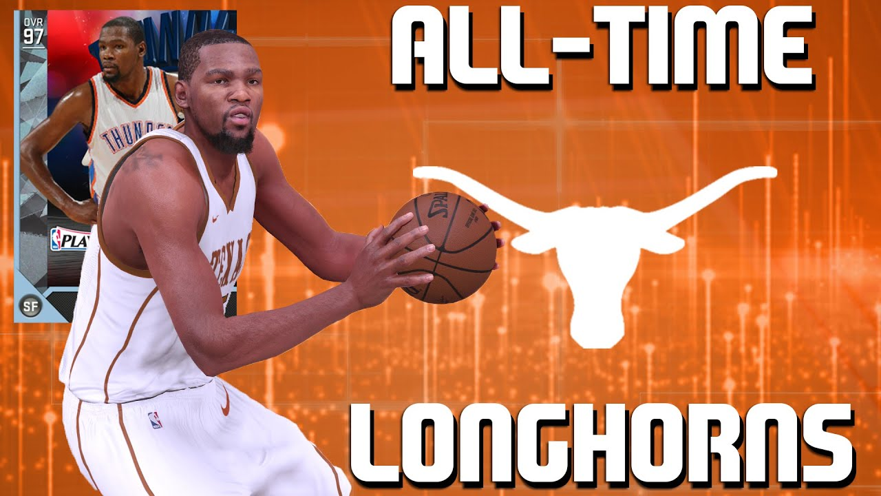 e700f6dd79a All-Time Texas Longhorns Team - Diamond Kevin Durant is a GOD! - NBA 2K16  MyTeam