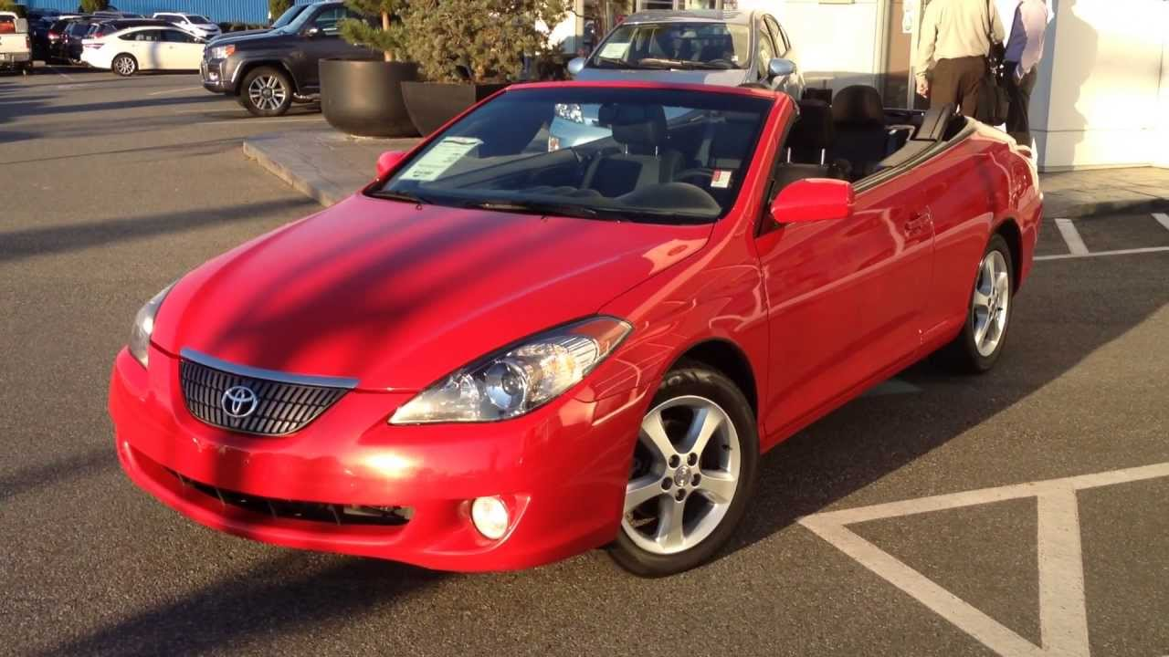 Sold 2006 Toyota Solara Convertible For Sale At Valley