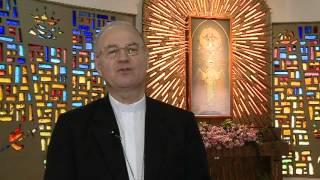 Quadro de Nossa Senhora Medianeira Revela Frase de São Bernardo