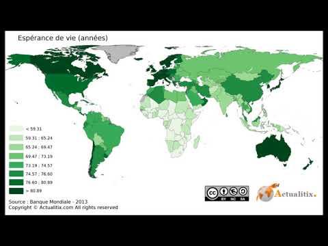 L'Algérie possède l'espérance de vie la plus haute en Afrique !