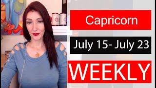 """Capricorn WEEKLY LOVE TAROT """"Twin-flame  wants commitment now"""" July 15 - July 23 2019"""