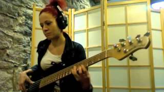 """Jaco Pastorius """"Come On Come Over"""" Bass Cover By Fabienne Gilbert Bassist"""