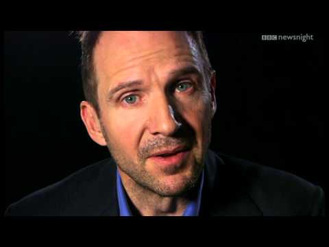 Ralph Fiennes reads a Shakespearean sonnet to close out the programme - Newsnight